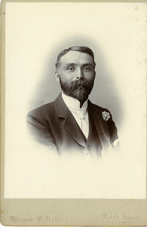 Joseph Child as a young man