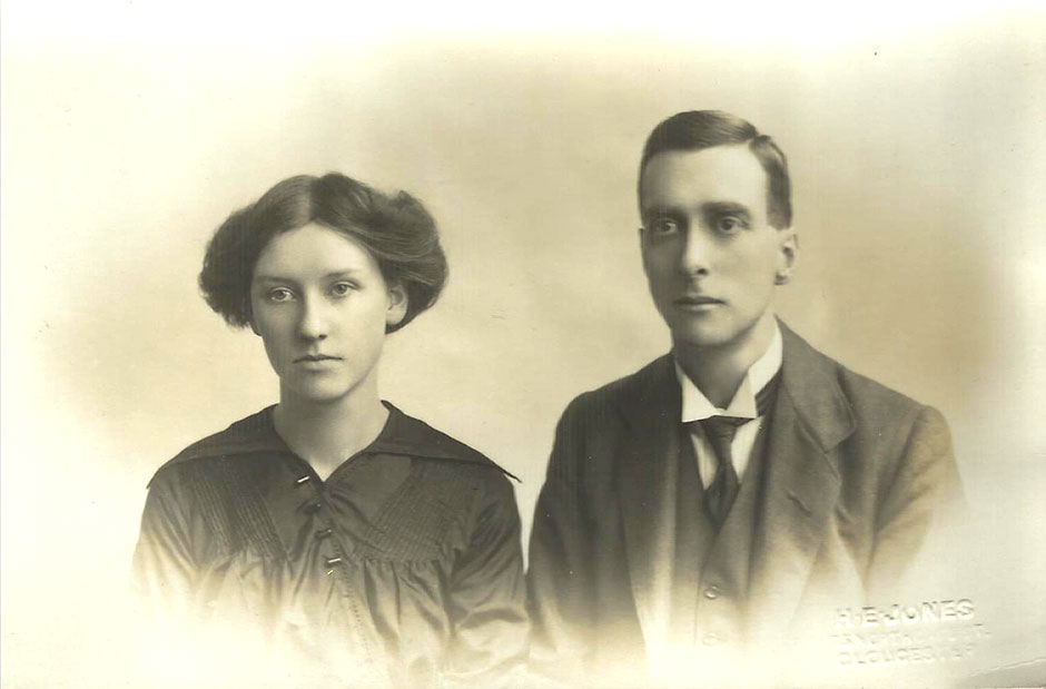 Graham and Dorothy Child in March 1915